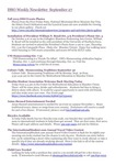 ISSO Weekly Newsletter, September 27, 2013