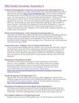 ISSO Weekly Newsletter, September 6, 2013