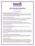 ISSO Weekly Newsletter, October 25, 2018 by University of Northern Iowa. International Students and Scholars Office.