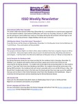 ISSO Weekly Newsletter, December 5, 2018 by University of Northern Iowa. International Students and Scholars Office.