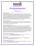 ISSO Weekly Newsletter, December 13, 2018