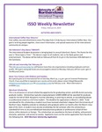 ISSO Weekly Newsletter, February 8, 2019 by University of Northern Iowa. International Students and Scholars Office.