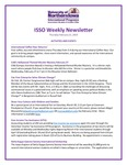ISSO Weekly Newsletter, February 21, 2019