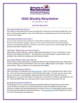 ISSO Weekly Newsletter, March 7, 2019 by University of Northern Iowa. International Students and Scholars Office.