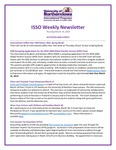 ISSO Weekly Newsletter, March 14, 2019 by University of Northern Iowa. International Students and Scholars Office.