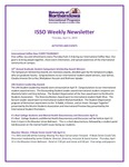ISSO Weekly Newsletter, April 11, 2019 by University of Northern Iowa. International Students and Scholars Office.