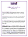 ISSO Weekly Newsletter, May 2, 2019 by University of Northern Iowa. International Students and Scholars Office.