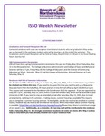 ISSO Weekly Newsletter, May 9, 2019 by University of Northern Iowa. International Students and Scholars Office.
