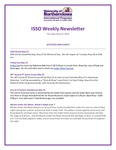 ISSO Weekly Newsletter, May 23, 2019 by University of Northern Iowa. International Students and Scholars Office.
