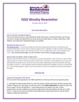 ISSO Weekly Newsletter, May 30, 2019 by University of Northern Iowa. International Students and Scholars Office.