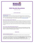 ISSO Weekly Newsletter, June 6, 2019 by University of Northern Iowa. International Students and Scholars Office.