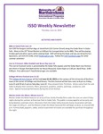 ISSO Weekly Newsletter, June 13, 2019 by University of Northern Iowa. International Students and Scholars Office.