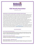 ISSO Weekly Newsletter, July 11, 2019 by niversity of Northern Iowa. International Students and Scholars Office.