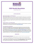 ISSO Weekly Newsletter, August 8, 2019 by University of Northern Iowa. International Students and Scholars Office.
