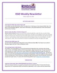 ISSO Weekly Newsletter, August 16, 2019