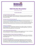 ISSO Weekly Newsletter, August 29, 2019 by University of Northern Iowa. International Students and Scholars Office.