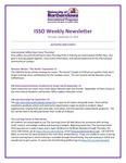 ISSO Weekly Newsletter, September 12, 2019 by University of Northern Iowa. International Students and Scholars Office.