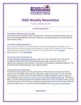 ISSO Weekly Newsletter, September 19, 2019 by University of Northern Iowa. International Students and Scholars Office.