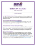 ISSO Weekly Newsletter, September 26, 2019 by University of Northern Iowa. International Students and Scholars Office.