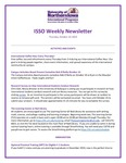 ISSO Weekly Newsletter, October 10, 2019 by University of Northern Iowa. International Students and Scholars Office.