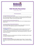 ISSO Weekly Newsletter, October 24, 2019 by University of Northern Iowa. International Students and Scholars Office.
