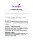 ISSO Weekly Newsletter, February 27, 2020 by University of Northern Iowa. International Students and Scholars Office.
