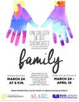 UNI Gallery of Art Showcases: A Latino American Children's Exhibit - Family
