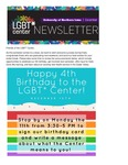 LGBT* Center Newsletter, December 2017 by University of Northern Iowa. LGBT* Center.