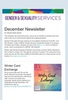 Gender & Sexuality Services Newsletter, December 2020