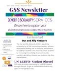Gender & Sexuality Services Newsletter, September 2020