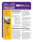 Library Connection, v3n2, Spring 2016 by University of Northern Iowa. Rod Library.