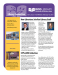 Library Connection, v4n1, Fall 2016/Winter 2017 by University of Northern Iowa. Rod Library.