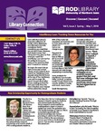 Library Connection, v5n2, Spring 2018 by University of Northern Iowa. Rod Library.