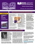 Library Connection, v6n1, Fall 2018 by University of Northern Iowa. Rod Library.