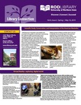 Library Connection, v6n2, Spring 2019 by University of Northern Iowa. Rod Library.