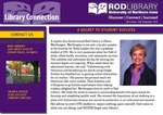 Library Connection, v7n1, Fall 2019 by University of Northern Iowa. Rod Library.
