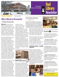 Rod Library Newsletter: Rod Notes, v1n4, January 2009 by University of Northern Iowa. Rod Library.