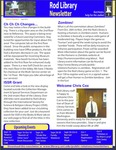 Rod Library Newsletter: Rod Notes, v5n2, September 2012 by University of Northern Iowa. Rod Library.