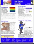 Rod Library Newsletter: Rod Notes, v5n4, November 2012 by University of Northern Iowa. Rod Library.