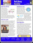 Rod Library Newsletter: Rod Notes, v5n5, December 2013/January 2013 by University of Northern Iowa. Rod Library.
