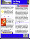 Rod Library Newsletter: Rod Notes, v5n9, May/June 2013 by University of Northern Iowa. Rod Library.