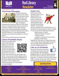 Rod Library Newsletter: Rod Notes, v6n4, November 2013 by University of Northern Iowa. Rod Library.