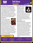 Rod Library Newsletter: Rod Notes, v6n6, February 2014 by University of Northern Iowa. Rod Library.