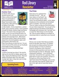 Rod Library Newsletter: Rod Notes, v6n7, March 2014 by University of Northern Iowa. Rod Library.