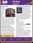 Rod Library Newsletter: Rod Notes, v6n8, April 2014 by University of Northern Iowa. Rod Library.