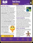 Rod Library Newsletter: Rod Notes, v7n1, July/August 2014 by University of Northern Iowa. Rod Library.