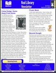Rod Library Newsletter: Rod Notes, v7n5, December 2014/January 2015 by University of Northern Iowa. Rod Library.