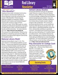 Rod Library Newsletter: Rod Notes, v7n8, April 2015 by University of Northern Iowa. Rod Library.