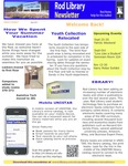 Rod Library Newsletter: Rod Notes, v4n1, September 2011