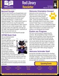 Rod Library Newsletter: Rod Notes, v7n10, June/July 2015 by University of Northern Iowa. Rod Library.